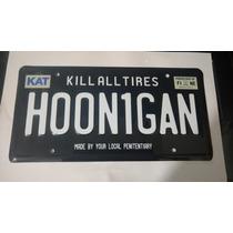 Hoonigan Ken Block Portaplacas Acero