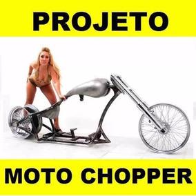 Projeto De Chassi De Moto Chopper Passo Passo