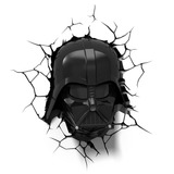 Luminária 3d Star Wars - Darth Vader - Deco Light Geek Nerd