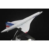 Avião Miniatura Concorde Air France - Em Metal