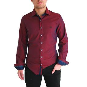 2x Camisas Vinho Para O Mesmo Frete Slim Furta Cor Estilosa