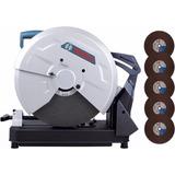 Serra Policorte 14 2000w Gco-2000 220v Com 5 Discos - Bosch