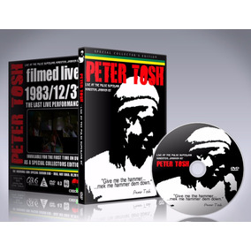 Dvd Peter Tosh - Live At The Pulse Superjam 1983