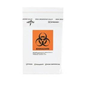 Bolsa De Muestras Biohazard Zip Lck 6x9 Pockt