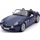 Maisto Bmw Z8 , 1:18, Color Azul