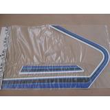 Faixa Adesivos Cg 125 82 Bolinha Azul 1982 Jogo Completo