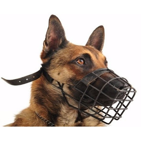 Focinheira Pet Metal Epoxi Preta Fecho Regulavel N.7