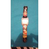 Reloj Ed Hardy Unixes Correa Negra Modelo De Mica Cuadrada