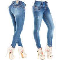 Pantalones Colombianos Premium Levanta Pompa Pushup