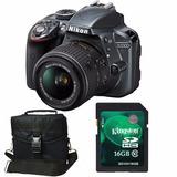 Nikon D3300 Kit 18-55 Afp+ Memo 16gb C10+ Bolso+ Envío+ Gtia