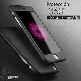 Funda Cubierta Rígida Cristal Templado + Acrílico Iphone6/6s