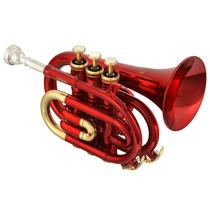 Trompeta Pocket Roy Benson C/estuche Pt-101r