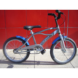 Bicicleta R20 Tipo Playera Freno Manual Nene Olimpia