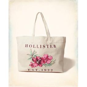 Bolsa Hollister By Abercrombie 100% Original Floral