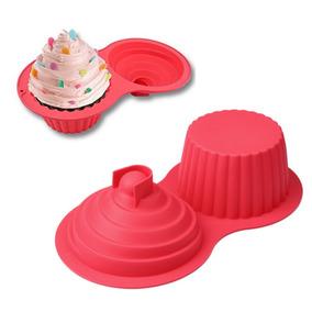 Molde Silicon Para Cupcake Quequito Gigante # 2