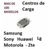 Centro De Carga Motorola Alcatel Samsung Zte Huawei Lg