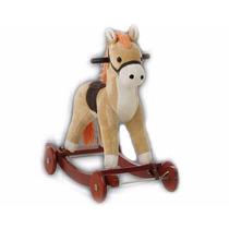 Caballito Pony Montable Mecedor Y Corre Pasillos Ofertaa