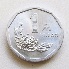 Moeda China 1 Yijiao 1998 Frete Gratis Carta Registrada