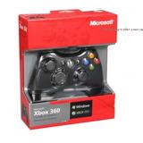 Control Negro Xbox 360 Nuevo En Caja Importado