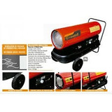 Calefactor Cañon Exterior 25800 Kcal Gasoil O Kerosene.