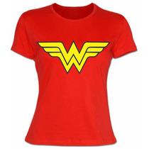 Playera Mujer Maravilla, Envio Gratis, Wonder Woman, Heroes