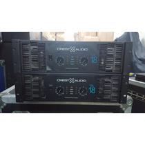 Foto Power Amplificador Crestaudio Ca18 En Excelente Estado