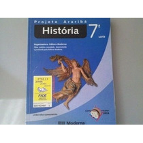 Livro História 7º Série Projeto Araribá