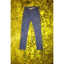 Pantalones Jeans Pitillos Pretina Tiro Alto A La Cintura