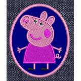 Peppa Pig Personajes Parches Bordados Infantiles Pepa Pig