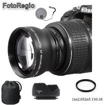 Telefoto Para Nikon D3000 D3100 D3200 D3300 D5000 D5100