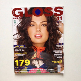 Revista Gloss Isis Valverde James Franco Natalie Portman