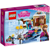 A Aventura De Treno De Anna E Kristoff Lego