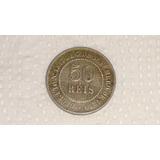 Moeda De 50 Réis 1886 - Império