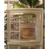 Ladrillos De Vidrio Modelo Liso Checo Unico Importado