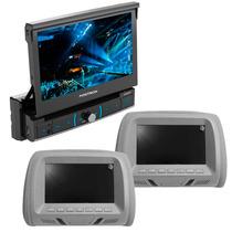 Dvd Player Retratil Positron Sp6320bt Viva Voz + Par Encosto