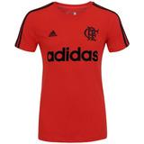 Camisa Flamengo Algodão Vermelha adidas 2016