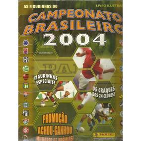 Álbum Campeonato Brasileiro 2004 [incompleto]