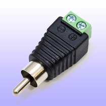 Conector Rca Macho Cctv Audio Video Microfono