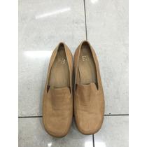 Zapatos De Cuero Color Beige Talle 37 Oferta Marca Fb