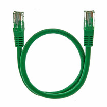 Patch Cord 0.6mts Categoria 5e Verde Howell