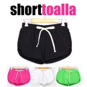 Short Toalla, Varios Colores, Hasta El Xl!!