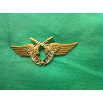 Eb5d27 Distintivo Dourado Especialização Polícia Do Exército