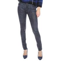 Jeans Sxy Jns Acabado Metálico Gris Oxford 29 Mex Skinny