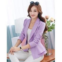 Mei Fashion / Blazer Coctel / Moda Coreana / Otoño