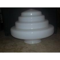 Lustre Modelo Antigo ( Vidro Escada 10*23 Leitoso)