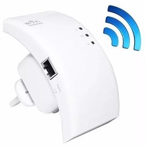 Expansor De Sinal Wifi Wireless Repetidor Roteador 300mbps