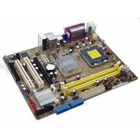Placa Mãe Intel Lga775 Core 2 Pentium Ddr2 P5gc-mx-seminovo