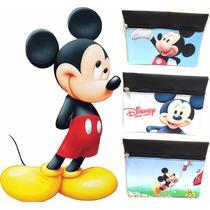 Cartuchera Mickey Frozen Sofia Dra Juguete Regalo Disney