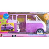Juguete Van Vehículo Volkswagen Barbie Microbús (púrpura) W