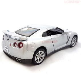 Miniatura Metal Nissan Gt-r Fricção Escala 1:32 Coleção Br59